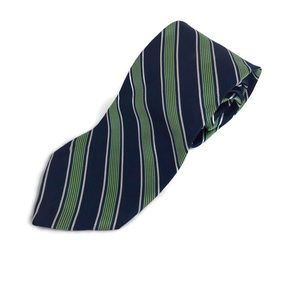 Brooks Brothers 346 Mens Tie Silk Blue Green Italy